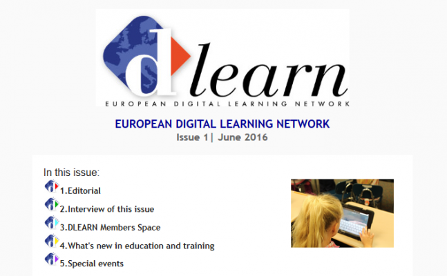 First DLEARN newsletter published!